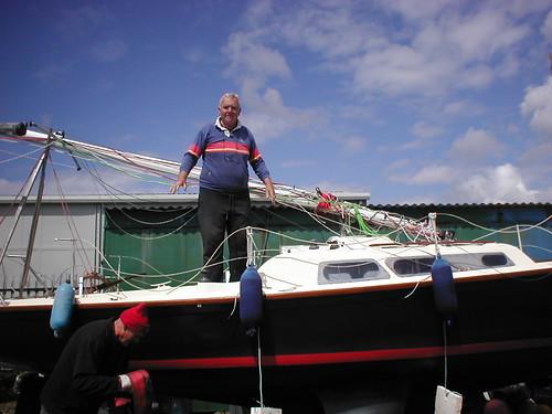 Klipspringer with me on board