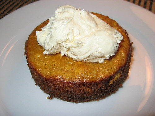 Maple Pumpkin Pie Cheesecake on Closet Cooking