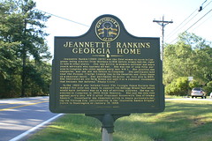 JEANNETTE RANKIN'S GEORGIA HOME