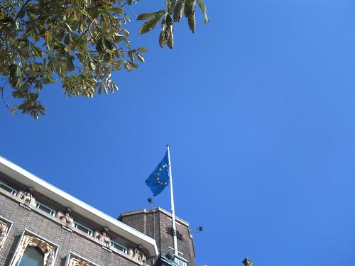 Blauwe luchten boven de EU
