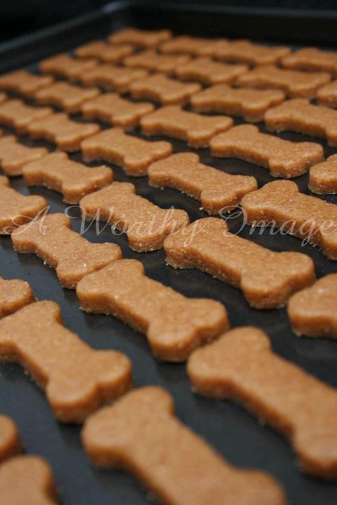 Peanut Butter Dog Biscuits (w/recipe)
