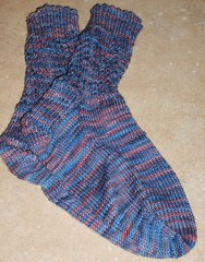 Baby Cable Rib Socks 040