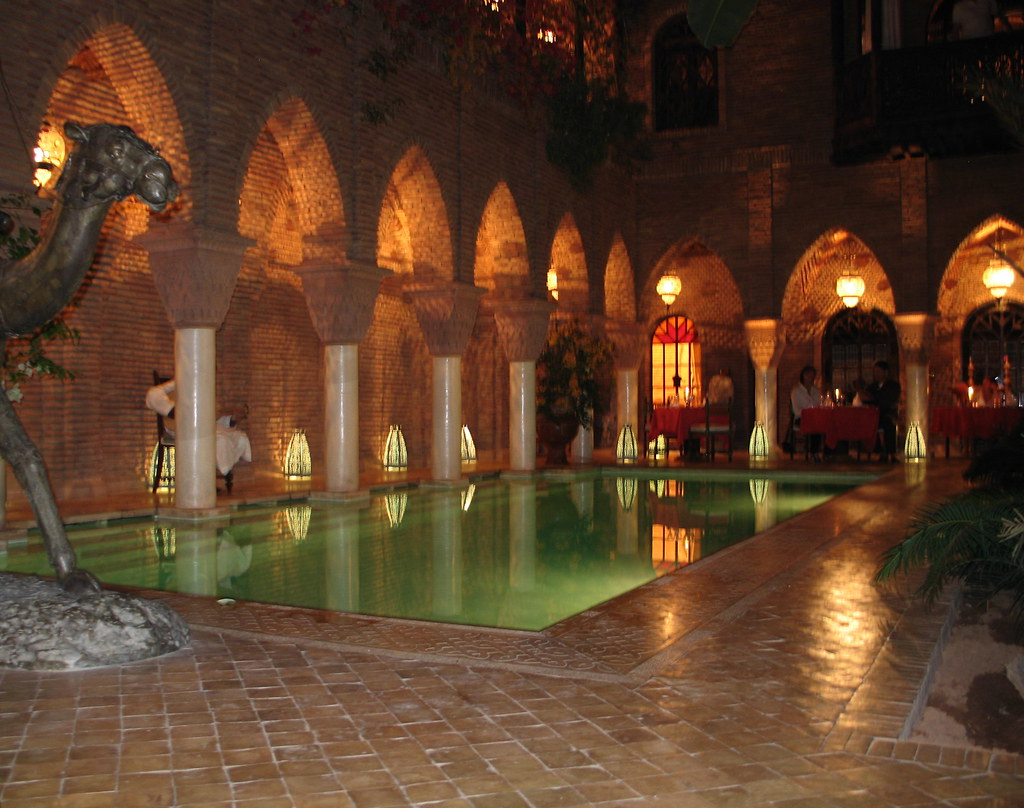 Swimming pool, La Sultana, Marrakech