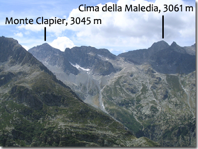 Panorama verso Clapier e Maledia
