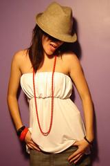 Jane (Ken_2007) Tags: portrait woman sexy girl jane retrato babyjane catchycolorsviolet happinessconservancy