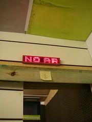 No ar!