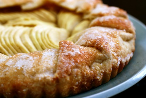 simplest apple tart