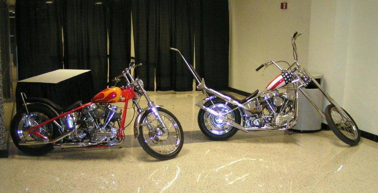 Easy Rider Movie Bikes  at Easy Rider Bike Show 2007