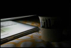 Lying On My Bed (Sartori Simone) Tags: london ikea geotagged mac coffeecup cia worldtradecenter twintowers wtc anidifranco fbi lambeth powerbookg4 alqaeda stockwell 9112001 11settembre allrightsreserved selfevident simonesartori