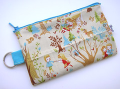 Hansel and Gretel Zipper Keychain Pouch