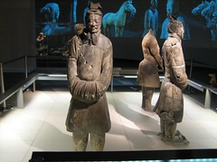 The Terracotta Warrior exhibition in The British Museum