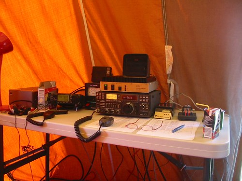 """Field day radio station 50/144/432 MHz • <a style=""""font-size:0.8em;"""" href=""""http://www.flickr.com/photos/10945956@N02/2079742237/"""" target=""""_blank"""">View on Flickr</a>"""