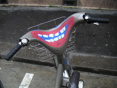 Decorated Velib' (3)