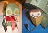 Krampus Paper Toy (macula1) Tags: christmas art monster illustration paper toy construction glue christopher card adobe devil illustrator vector krampus bonnette