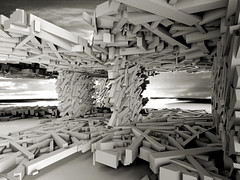 Generative Architecture - Paviljoen (Thijs Tilkin) Tags: architecture design 3d student university experimental box render dramatic eindhoven technical autocad generative script visual epic universiteit technische basic viz thijs tue 3dsmax vba atd maximalism apocaliptic dramatisch tilkin maximalisme apocaliptisch