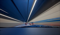 front-seat passenger view (Toni_V) Tags: longexposure car 1025fav driving zurich perspective tunnel vanishing soe whiledriving sigma1020mm supershot schneich toniv schneichtunnel mywinners diamondclassphotographer geometriegeometry toniv