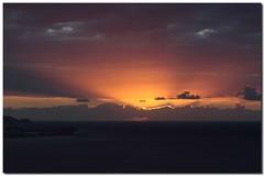 amanecer en Salobreña