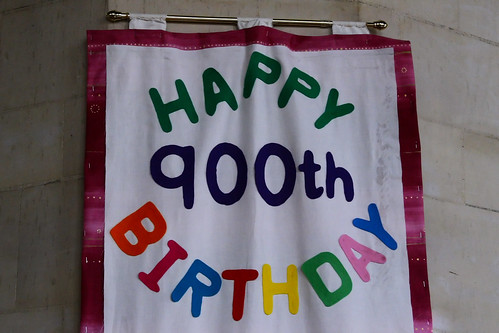 HAPPY 900th BIRTHDAY