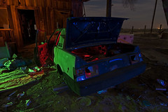 NX'ed (TakenPictures) Tags: pictures california longexposure nightphotography light moon lightpainting abandoned car night trash canon painting photography eos town junk automobile long exposure paint nissan desert ghost taken full fullmoon tokina 124 mojave transportation vehicle ghosttown shack dslr 1224mm pulsar mojavedesert trashed boron atx 30d paintwithlight nx canon30d nxed tokinaaf1224mmf4 takenpictures tokinaatx124afprodx mikehows nissanpulsarnx