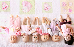 Baby Dolls (mylaphotography) Tags: baby art bed toddler dolls manipulation collection blanket mylaphotography rahijaber fairytalephotography