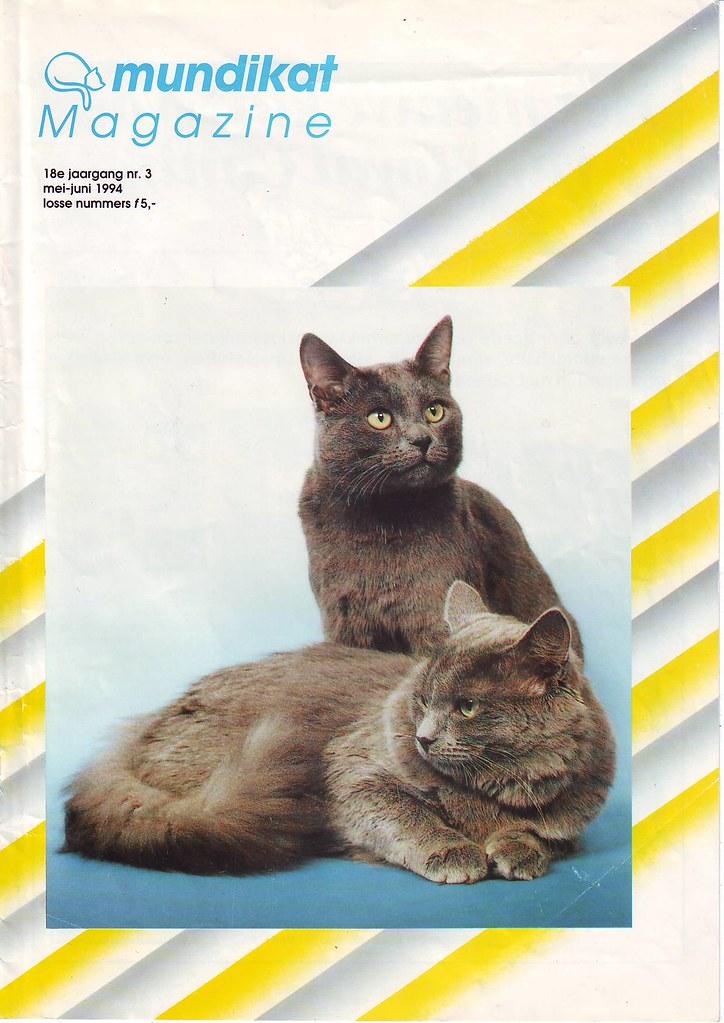 Publications - the first dutch Nebelung- 1994 2269171817_5e39850b30_b