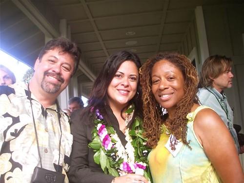 Maya at Maui fundraiser
