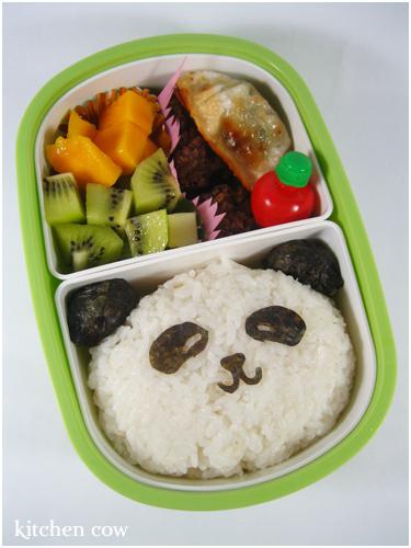 184 Panda Bento