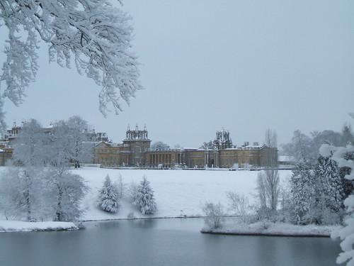 Snowy palace