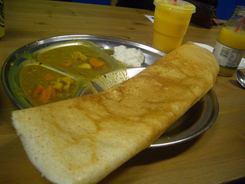 Funky Curry dosa
