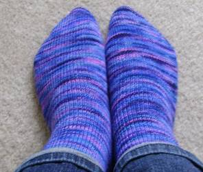 purple koigu sock3