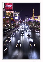 Vegas Strip (Insight Imaging: John A Ryan Photography) Tags: toronto ontario motion cars lasvegas strip aficionados pentaxk10d justpentax wwwinsightimagingca johnaryanphotography