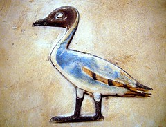 Ancient Egyptian pintail duck (ggnyc) Tags: nyc newyorkcity museum duck manhattan egypt relief limestone met thebes metropolitanmuseumofart ancientegypt egyptology egyptianart mentuhotep sheikhabdelqurna