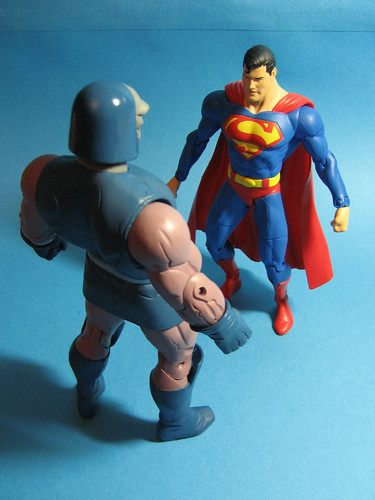 Darkseid and Superman