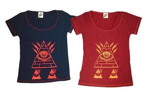 Camiseta Remera Piramide
