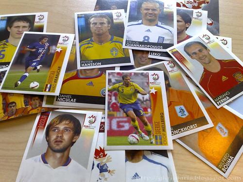 Panini Euro 2008 stickers