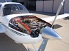 Cirrus SR20 Engine (twomets) Tags: santabarbara airplane nose flying airport aircraft aviation engine continental topv3333 propeller cowling io360