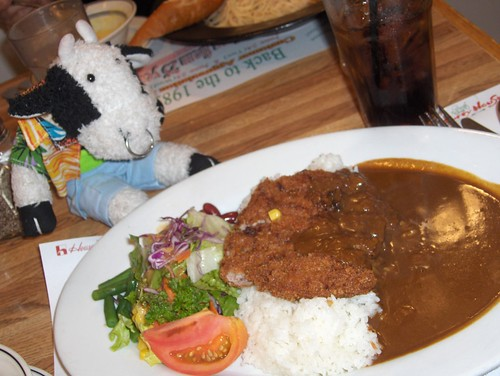 Hamburger curry at Curry House
