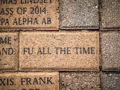 Belltower Walkway Bricks (RandomConnections) Tags: belltower furman furmanuniversity greenville montague southcarolina unitedstates us