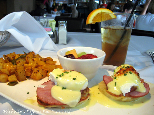 Bistro West- Corned Beef Hash Eggs Benedict