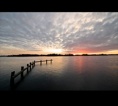Pleasant lakeside moments (Danil) Tags: sunset sky holland water netherlands dutch landscape zonsondergang daniel nederland april groningen friday molen paterswoldsemeer 2010 d300 lakescape hoornsemeer steigertje pleasantlakesidemoments