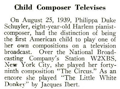 Child Pianist Plays on a Television Broadcast - Crisis Magazine, October 1939 by vieilles_annonces