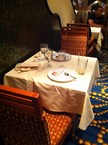 Carnival Splendor - Happy (but Hidden) Table for Two
