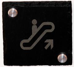 PICTOGRAMME ARDOISE ET ALUMINIUM (kitncolors) Tags: ardoise aluminium pictogramme signaltique kitcolors