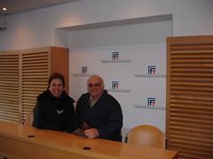 "Na sala de imprensa de Rolland Garros • <a style=""font-size:0.8em;"" href=""http://www.flickr.com/photos/63787043@N06/5804823139/"" target=""_blank"">View on Flickr</a>"
