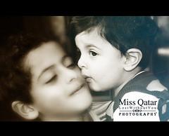 ..      (Missy   Qatar) Tags: love boys kids kiss missy qatar abdulaziz qatari alkhater