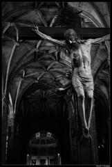 (DavidGorgojo) Tags: bw portugal christ lisboa lisbon bn cristo jess blueribbonwinner monasteriodelosjernimos