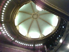 Ceiling, New Victory Theater (Randi Mason) Tags: newyorkcity theater gaiman neilgaiman davemckean wolvesinthewalls newvictorytheater thewolvesinthewalls nationaltheaterofscotland newvicfamily