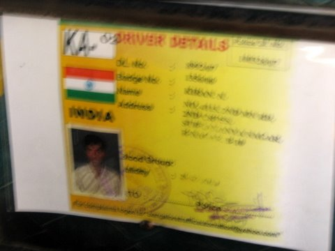 auto driver info