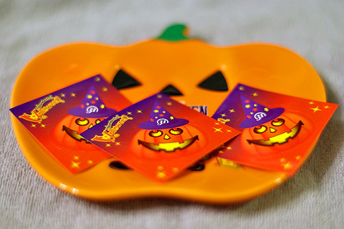 B&R 31 Halloween sticker