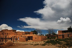 traveler : pueblo native village - cotton balls in the sky (tofu_minx) Tags: 10faves